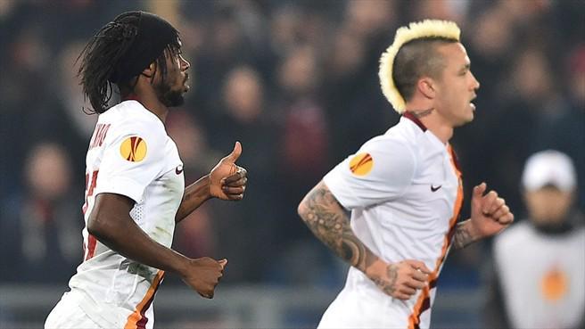 FOTO GERVINHO Video Gol ROMA FEYENOORD Risultato diretta live tempo reale Europa League