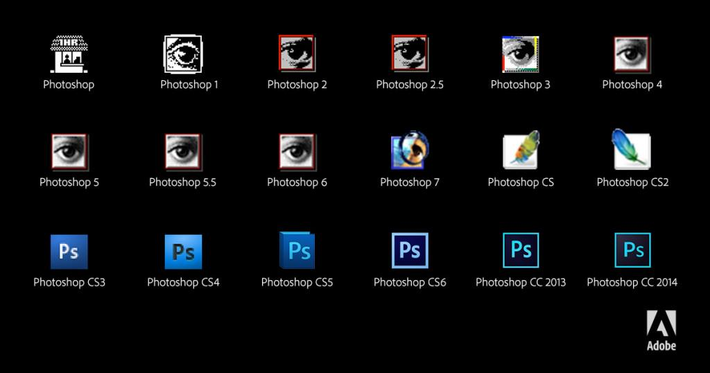 Which icon did you start with? #photoshop25   Read more: http://t.co/3398X91oBM http://t.co/Ia6fMSiMW3