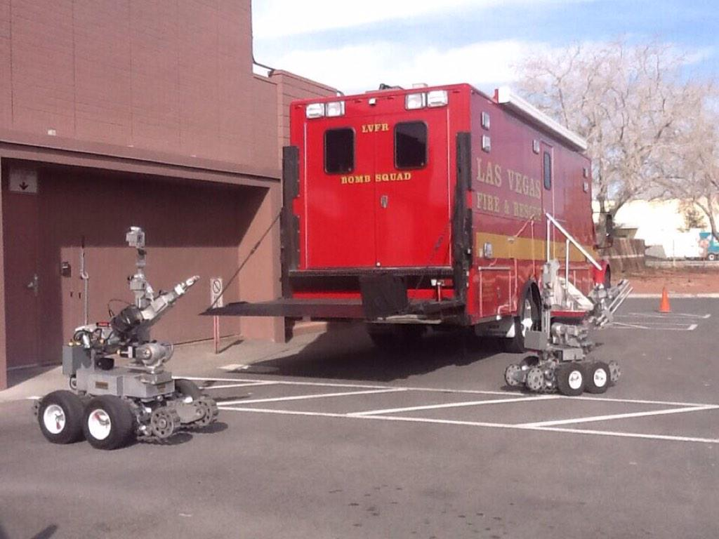 Las Vegas Fire Amp Rescue Operates The Only Bomb Squad In