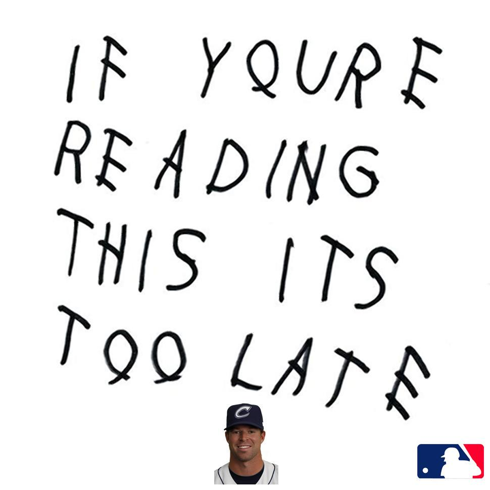Yo @Orioles,  It's over.  Signed,  #CoreyKluber #FaceOfMLB http://t.co/REAg7TdPb7