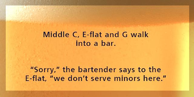 Is it Happy Hour yet? #badpuns #musichumor #CSOMG http://t.co/eTDxYQz2tv
