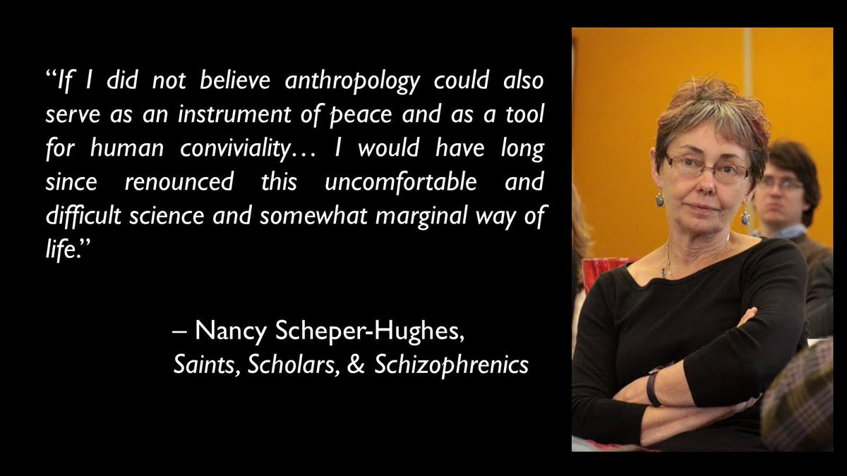 """Anthropology is partly """" a tool for human conviviality"""" as well as a """"difficult science."""" #NationalAnthropologyDay http://t.co/SHHWFTZiS1"""