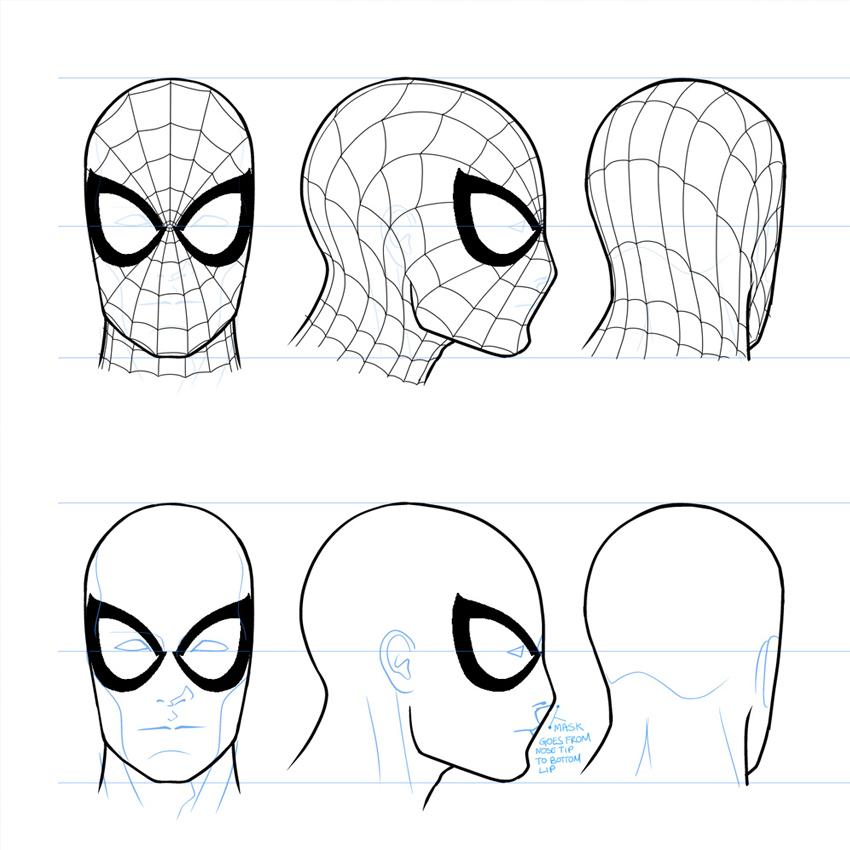 Marvel Entertainment On Twitter Learn How To Draw Spiderman With