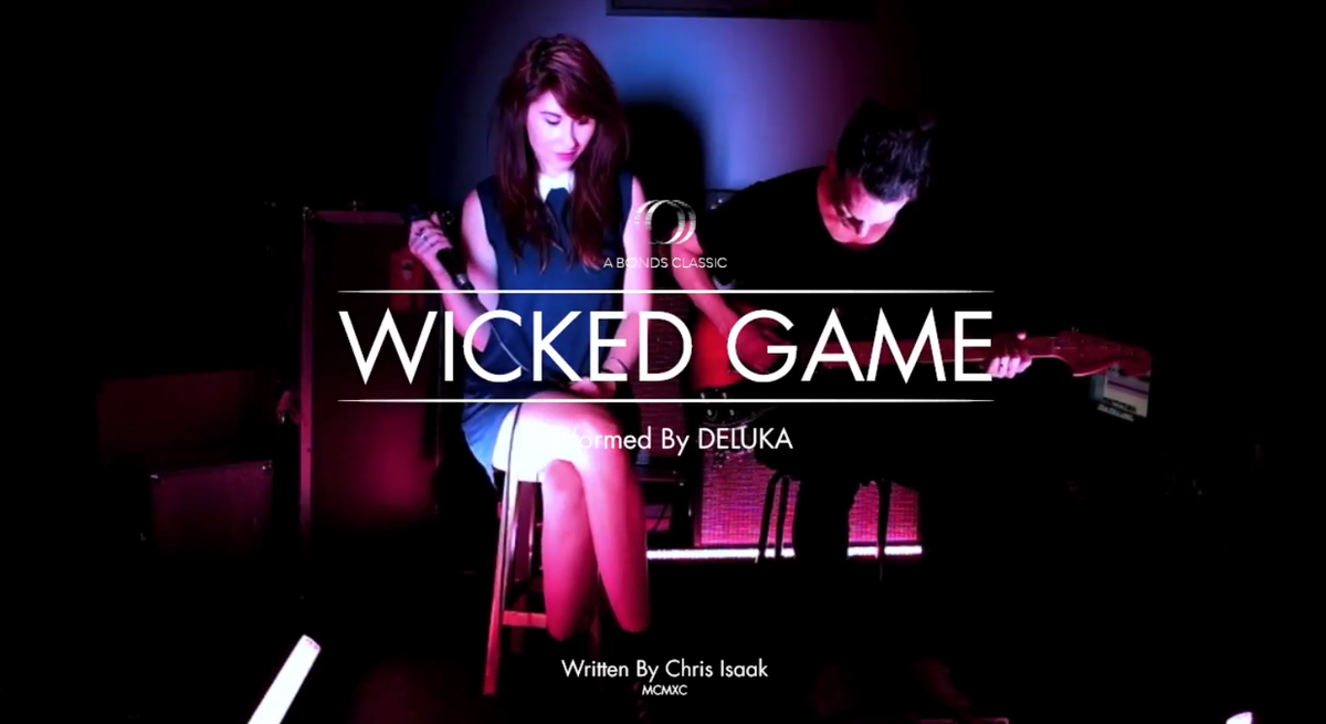 It's here! Watch our cover of Chris Isaak's Wicked Game: http://t.co/YlwufYBZOV http://t.co/eernpDyHFA