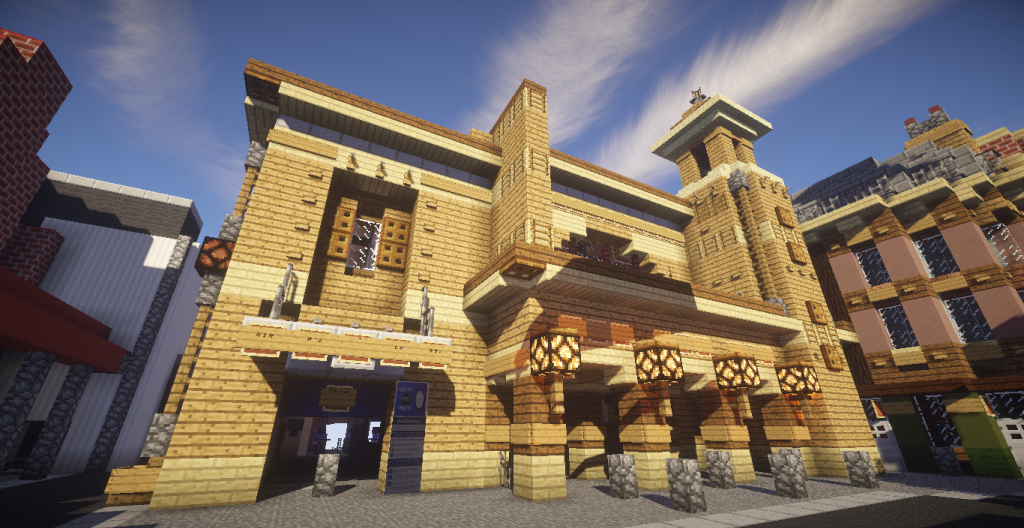 Harry Potter Diagon Alley Build Minecraft