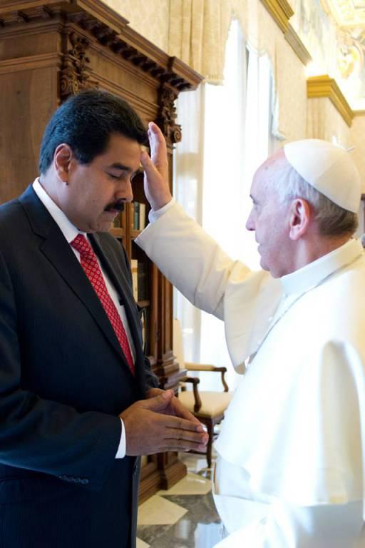 Mirá como mata de hambre a los niños el tirano Maduro, con aval del cura Bergoglio y del kirchnerismo