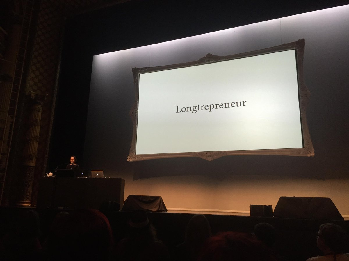 .@tashmahal coining a new term: Longtrepreneur - Someone who builds for the long term instead of an exit. #webstock http://t.co/eQrIvVMyir
