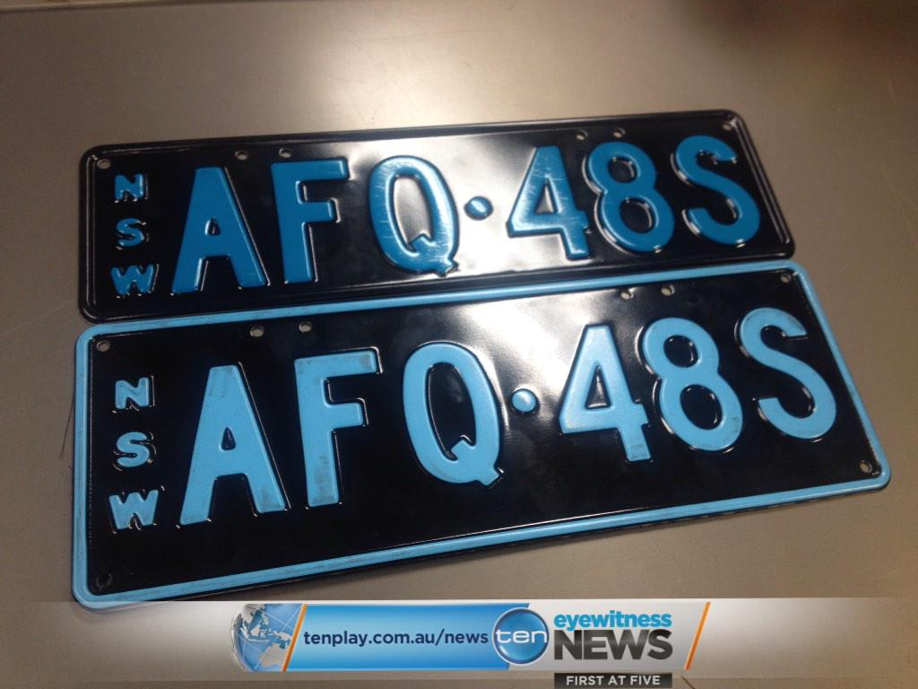 Rta Number Plates Nsw Auto Cars