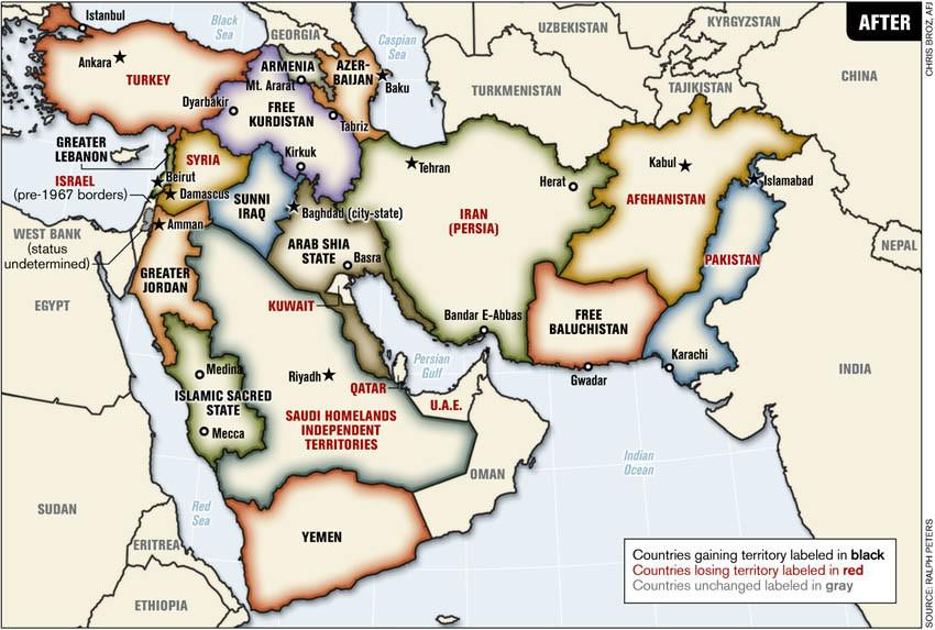 Velina Tchakarova on Twitter Redrawing the Middle East Map ht