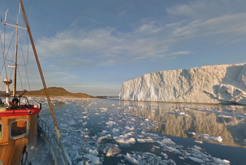 Google Street View ha filmato la Groenlandia