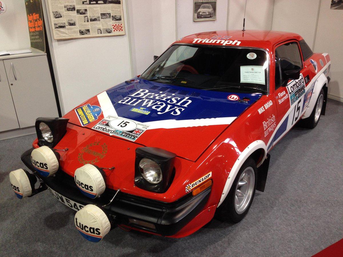 Triumph TR7 No 14 Scottish Rally 1980