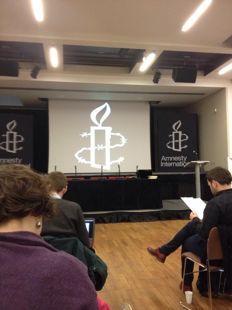 At @AmnestyUK HQ for #Time4aTimeLimit strategy day http://t.co/duihLvQDDR