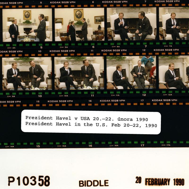 Thumbnail for 25. výročí cesty Václava Havla do USA