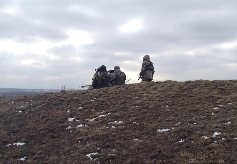 Боевики не прекращают обстрелы украинских воинов. Наибольшая активность возле Донецка, - пресс-центр АТО - Цензор.НЕТ 7279
