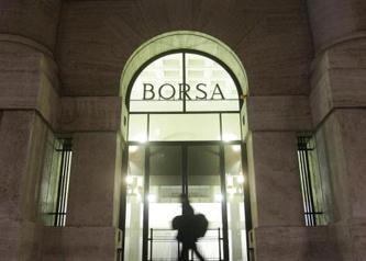 Borse in ribasso: crolla il fatturato dell'industria italiana