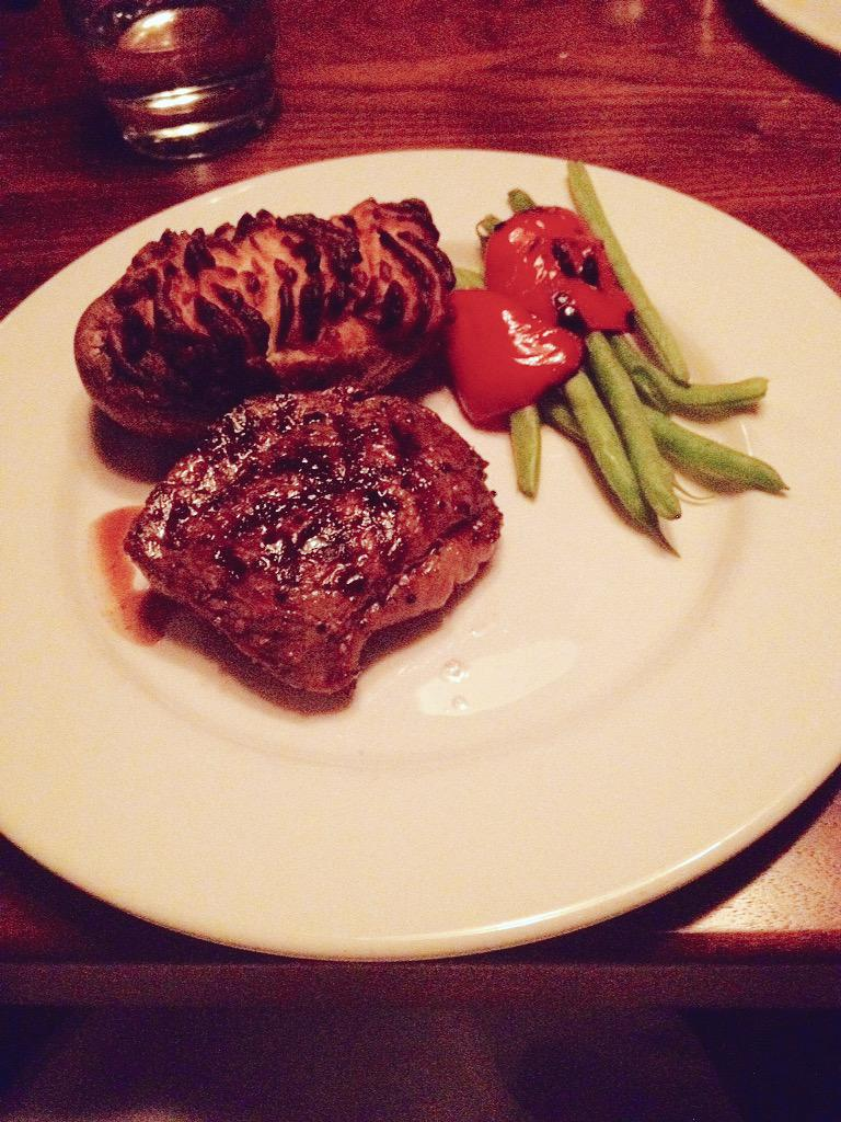 Twitter post: RT @TheTinyFoodie: Family time @TheKeg #TheKeg #tgif #montreal…Read more. Opens full post in an overlay