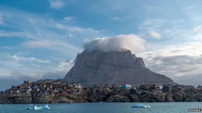 "Street View di Google ""fotografa"" Groenlandia"