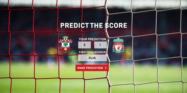 Guess: PREDICT THE SCORE: Guess tomorrow's result and first