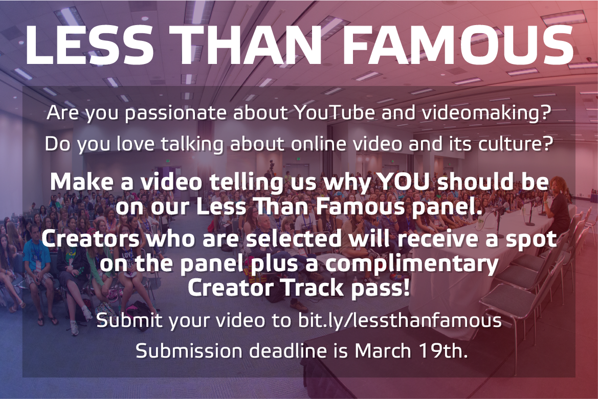 Vidcon On Twitter More Info On The Contest Can Be Found Over At