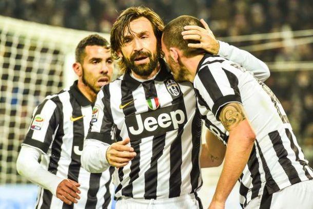 FOTO VIDEO Il gol da fuori di Andrea Pirlo in Juventus-Atalanta 2-1