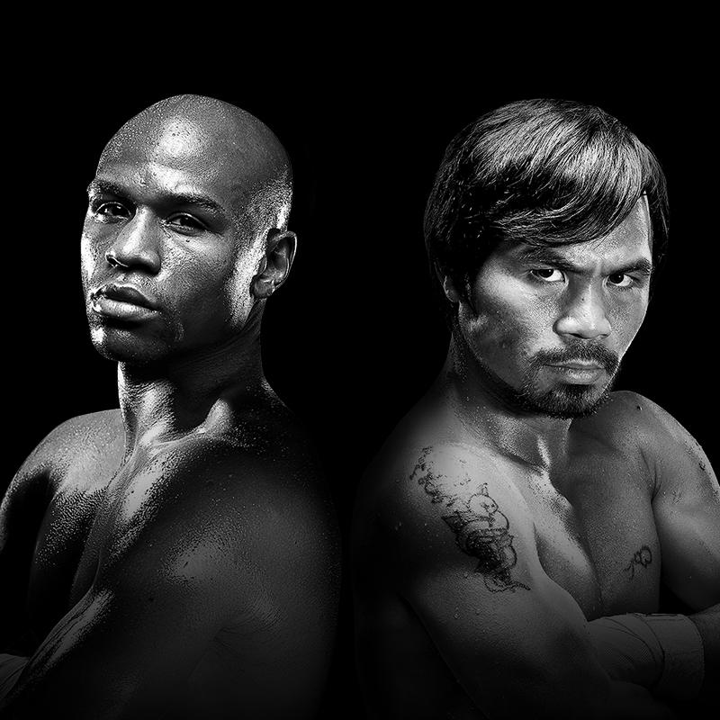 The fight is on.   May 2, 2015. Live on pay-per-view. http://t.co/QDagGn0EEw