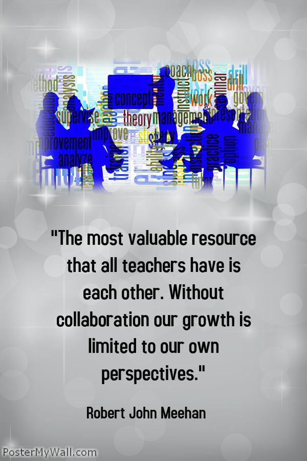 #satchat MT @saramarleygrimm: All tchrs have a valuable resource--each other! #2020HowardWinn http://t.co/835FCUM1JT