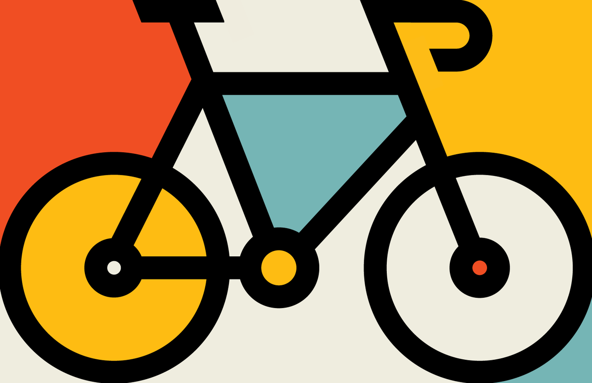 I drew this bike today. There's no deep concept. It just looks pretty. http://t.co/TNckTXKtOK