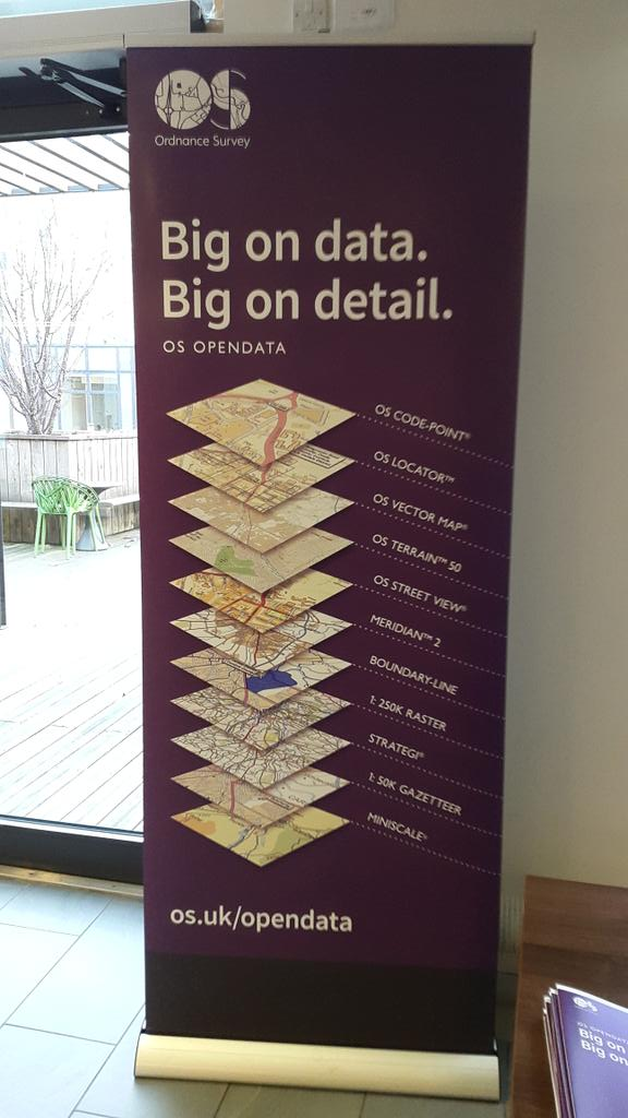 I'm at #ODCamp #ODD15 in #Winchester awaiting exciting new #Opendata announcements from @OrdnanceSurvey http://t.co/oGu1sYGmHd