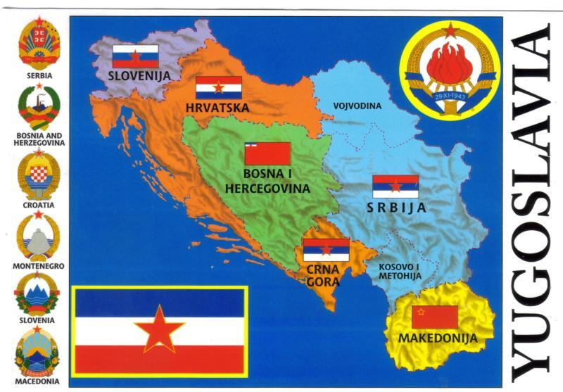 Αποτέλεσμα εικόνας για SFRJ map