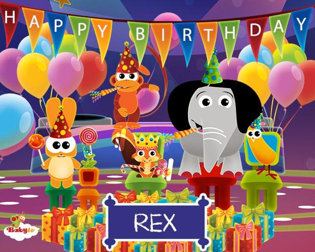 RT @BabyTVChannel: @Fearnecotton Happy 2nd Birthday to Rex! Have a great day! Love from all your BabyTV friends x http://t.co/8MmXgIXJsX