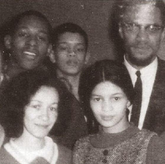 50 years ago today, Malcolm X was assassinated in Harlem. This is the last photo taken of him before he was shot. RIP http://t.co/RwuFwQHCsh