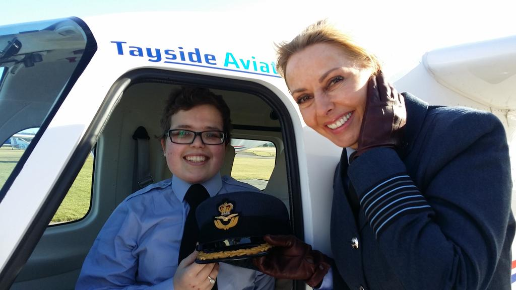 Meeting an amazing young lady Corporal Rebecca Dalgleish #aircadets @132SqnATC x http://t.co/0Eik46CkYk