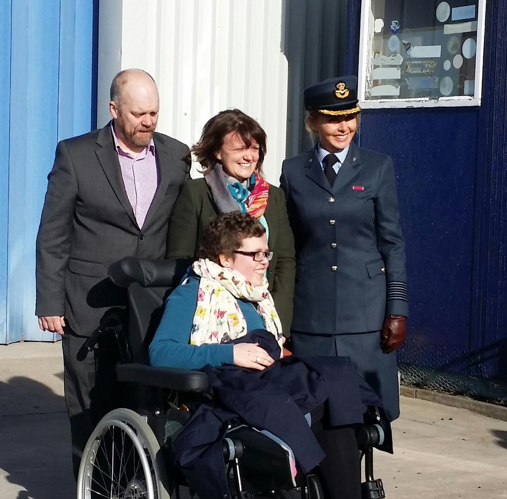 With Beccy's family xx #aircadets #whatwedo http://t.co/wZ5wiIedSi