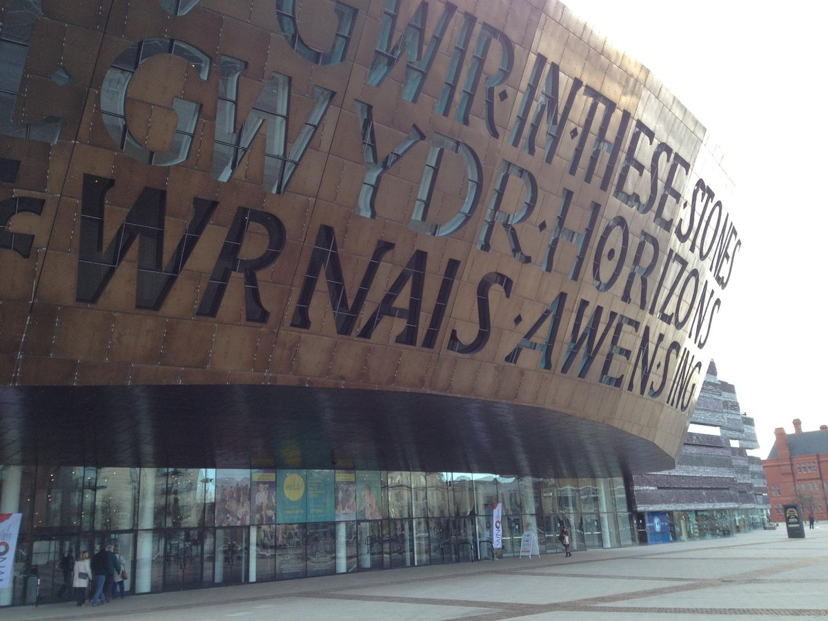 We're here @theCentre  for #ntwTEAM Workout & Skill Swap ready to #bbcgetcreative in #Cardiff http://t.co/1P7StolRkM