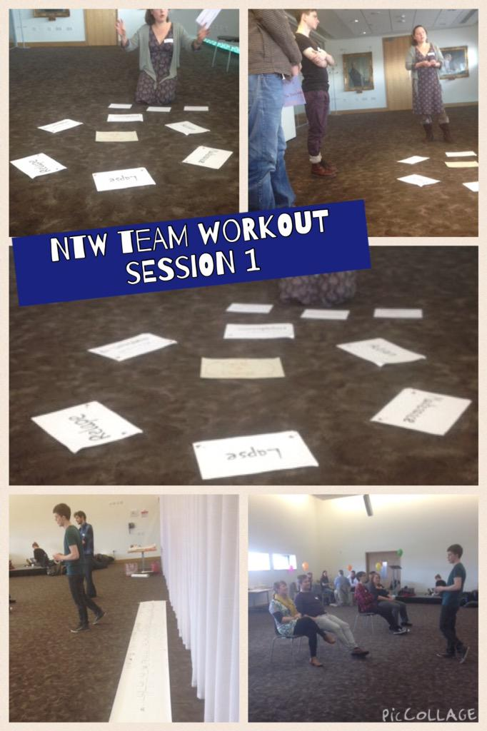 #ntwteam #ntwworkout session 1 is going really well http://t.co/IH5QItKnex