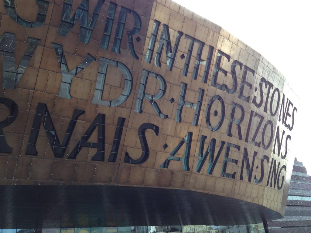 Beautiful day to be @NTWtweets @NTWSkillSwap at the Millennium Centre Cardiff #bbcgetcreative #ntwTEAM http://t.co/RJuymq15pl