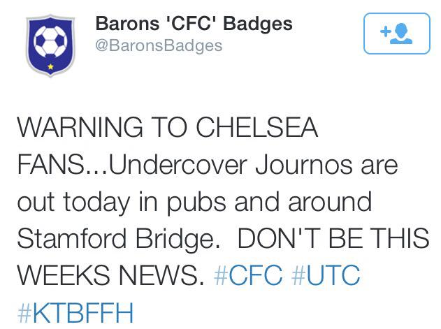 """""""Remember lads, don't be racist today."""" http://t.co/4IGsKFmbHn"""