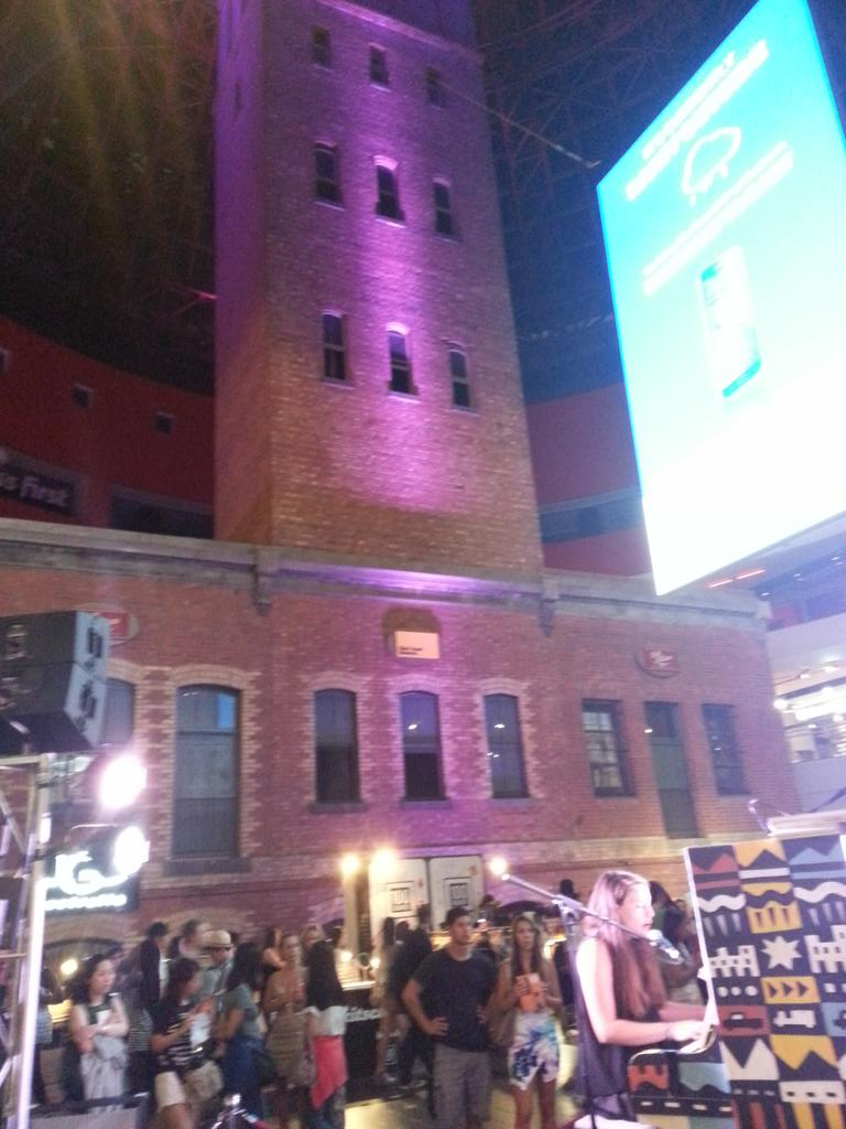 White night à la Shot tower