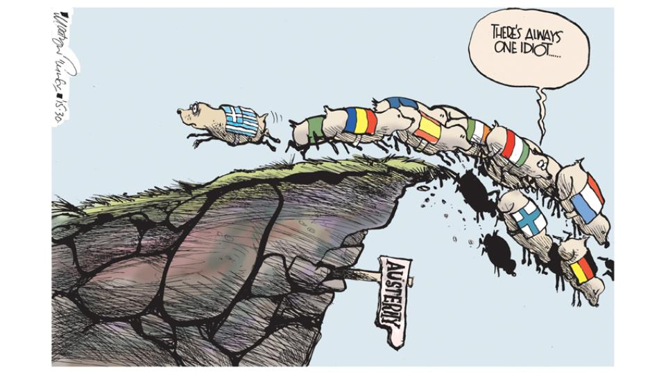 @sturdyAlex Good on #Greece for refusing. RT @IrishTimesOpEd Here's the latest Martyn Turner http://t.co/0RX6HcRsUo http://t.co/yGyYU8raN8