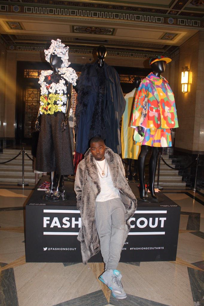 London fashion week has officially started , Balenciaga and Charles for my first look at @FashionScout last night !!! http://t.co/Hwrp31YTTQ