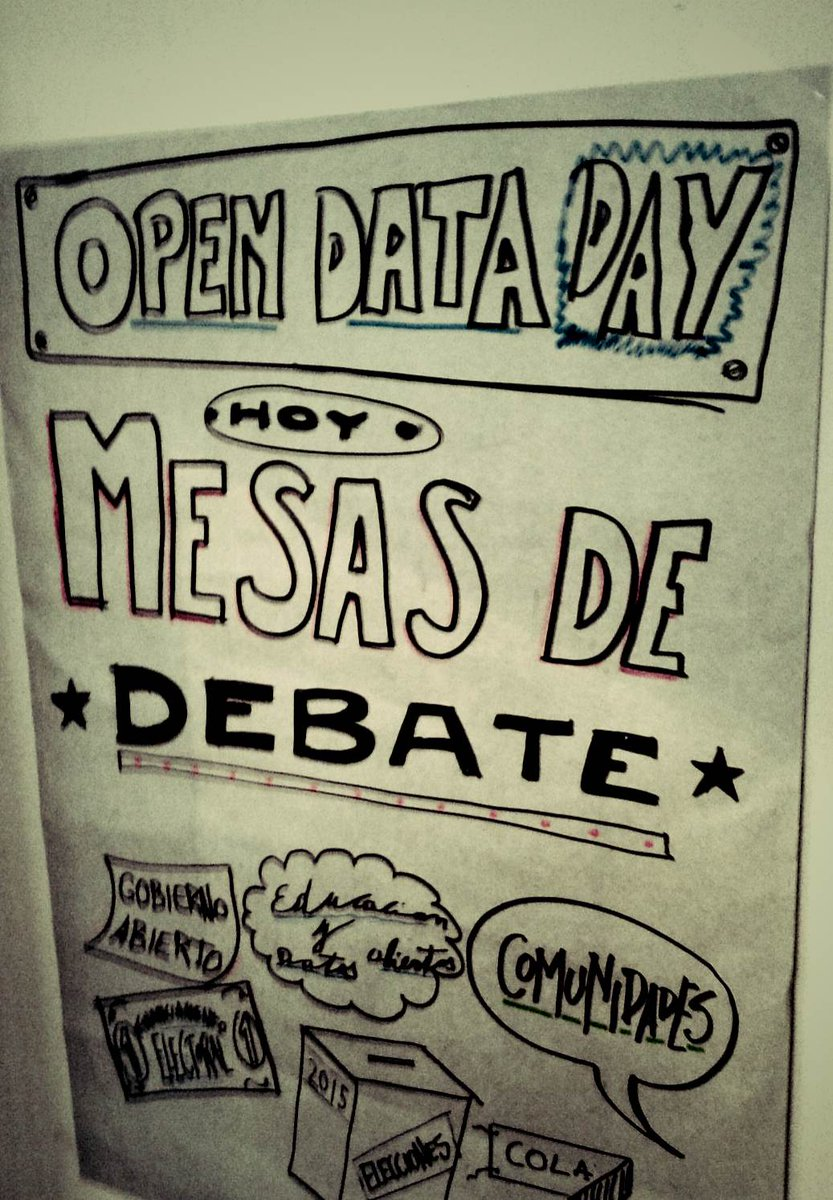 Let the day be open! #opendataday #oddar @OKFNAR http://t.co/f1IYB6k1sx