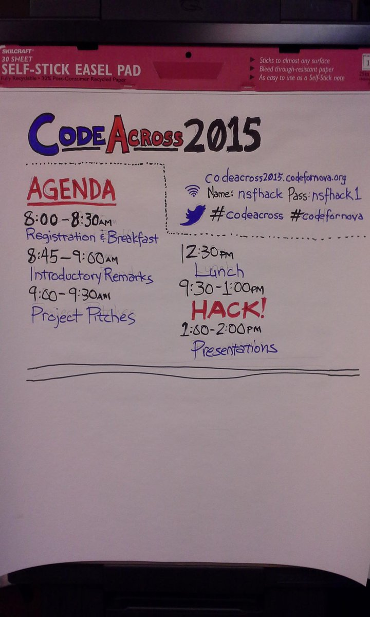 Glad to partner with @codenovabrigade during #codeacross for nonprofit tech challenge! http://t.co/5MEGVPRDLI http://t.co/zpuhYfHNj6
