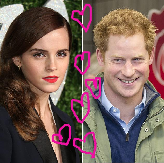 "Yahoo Celebrity UK On Twitter: ""Emma Watson And Prince"