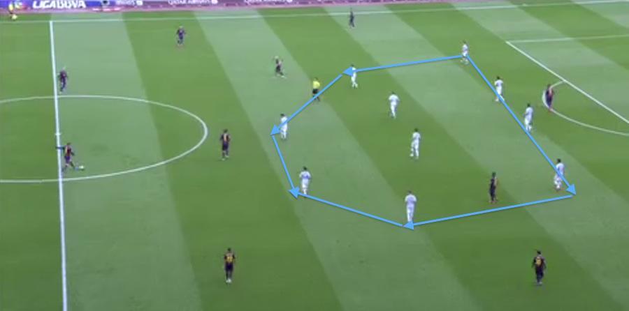 1| Un altre 4-4-2 que expulsa el Barça a jugar fora i l'encalla: impecable defensa del Màlaga http://t.co/f3J32XFAkA http://t.co/gNLUWyVsZs