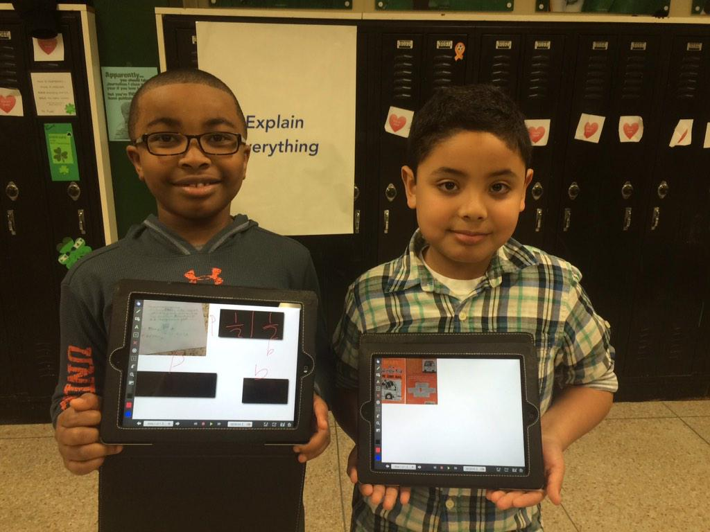 @iChrisLehman: Juan and Gabe, teaching me about Explain Everything! #Dublit15 (this is SO awesome) http://t.co/xWGt3XzpUR. @ireDCSD