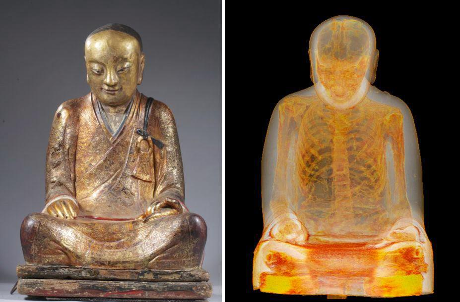 CT Scan of 1,000-Year-Old Buddha Sculpture Reveals Mummified Monk Hidden Inside http://t.co/UammEkv6Ba http://t.co/vRR28dqOlK