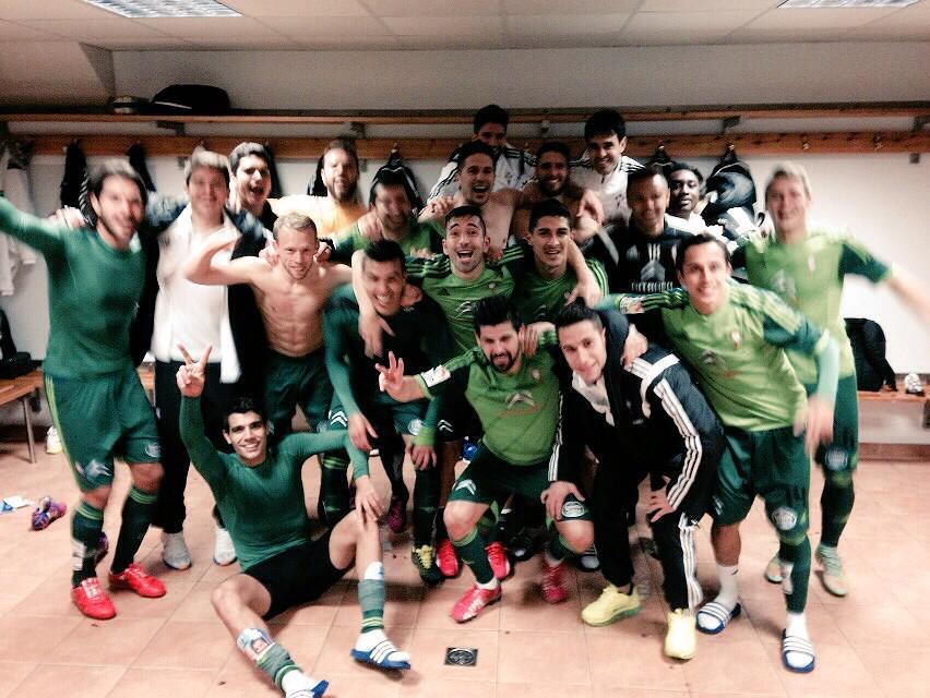 Enhorabuena a todo el equipo y a nuestra afición. A disfrutar del finde!!! #ONosoDerbi http://t.co/9Os8YsWS8g