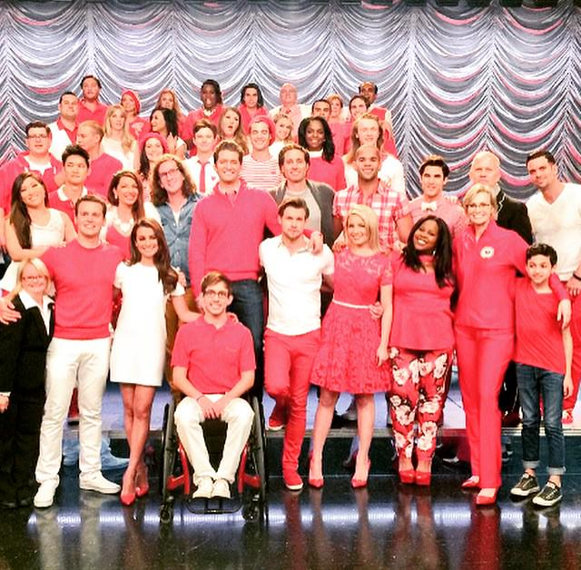 #Glee was the launching pad/beginning for most of us.... And for that I am forever grateful! #GleeFamily #GoodbyeGlee http://t.co/9xEpbZjgdG