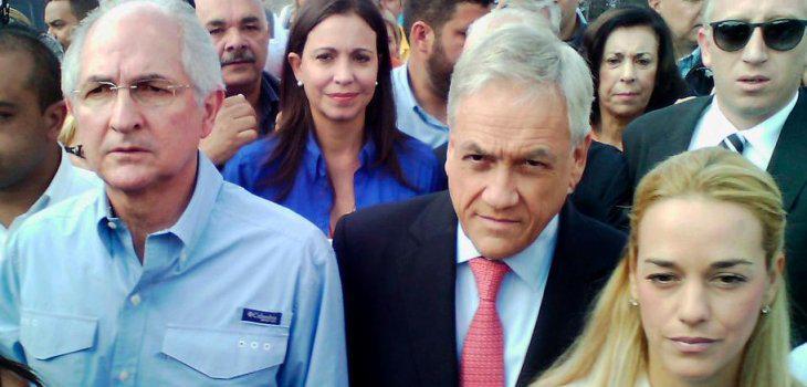 Piñera solicita convocar a cancilleres de la OEA para analizar detención de alcalde de Caracas http://t.co/mClkJMv4z9 http://t.co/4UReUFjbJ7