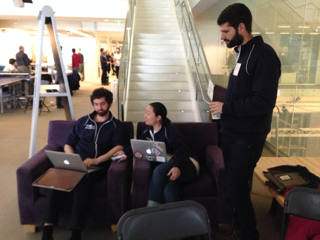 #cfafellows doing Fellow things! #CodeAcross http://t.co/r7isFXhqd7